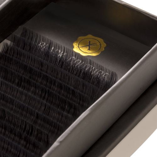 Premium Natural Silk lash C curl (Black couture)