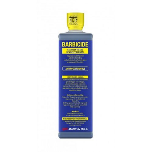 Barbicide disinfectant concentrate - 480ml