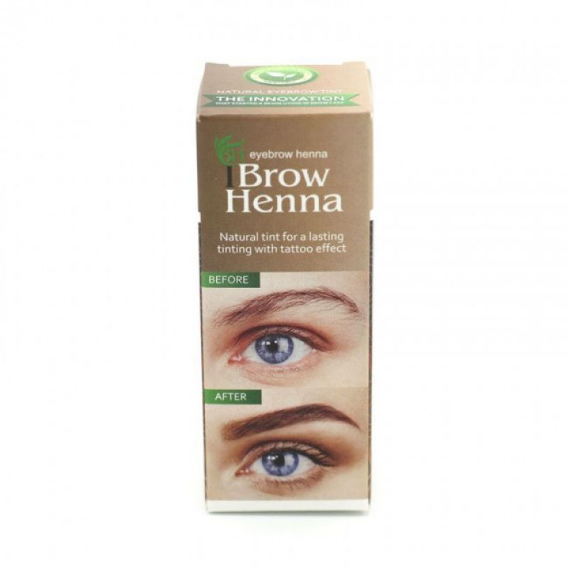 Neutral brown henna kleur #1