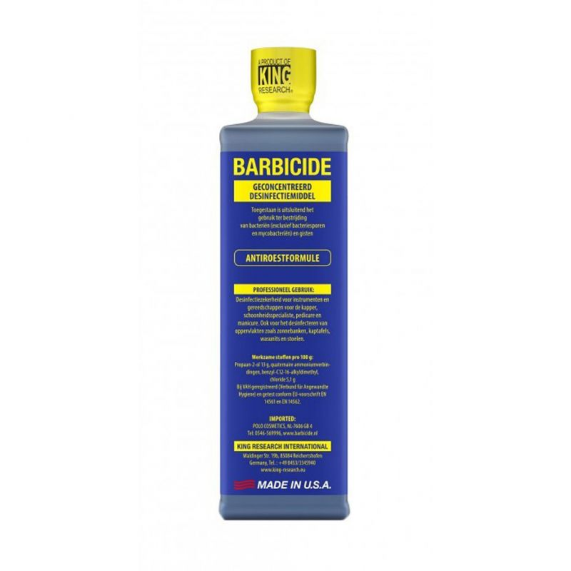 Barbicide desinfectie concentraat - 480ml